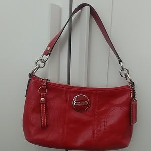 Coach patent leather bag 👛